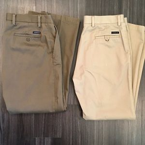 Bundle of 2 Dockers Straight fit khakis